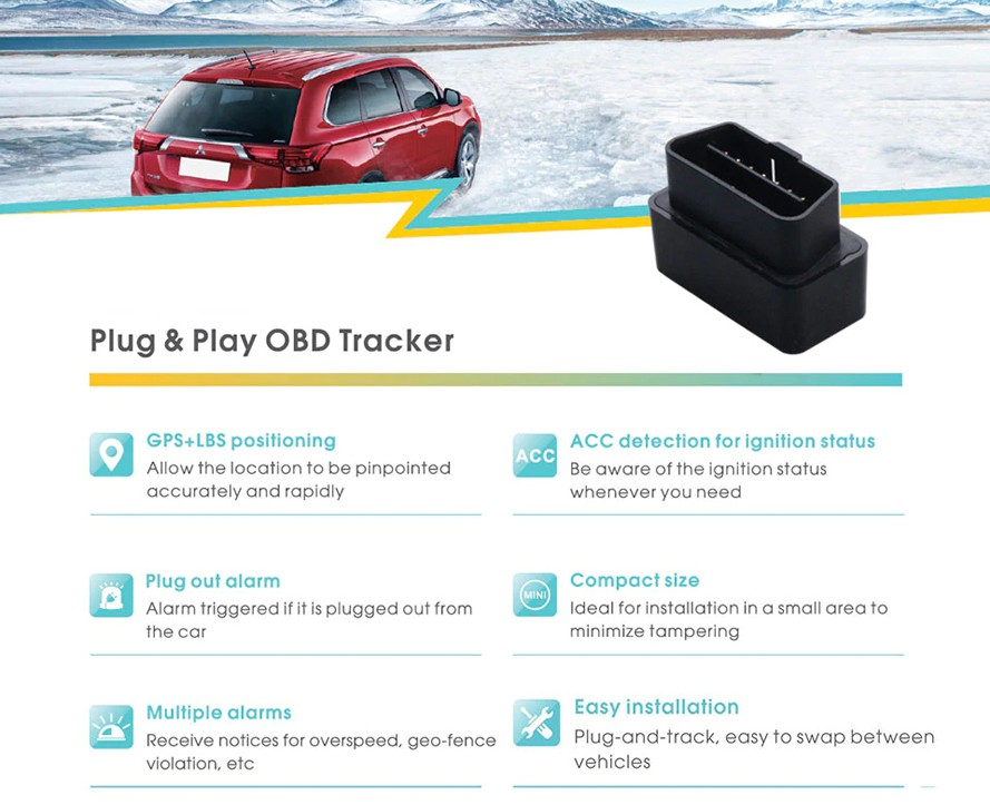OBD Car GPS Tracker